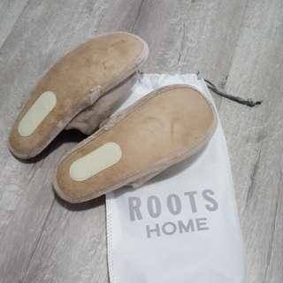 ROOTS室內拖鞋