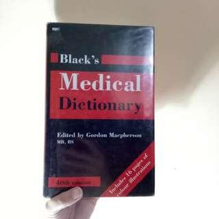 Blacks medical book dictionary
