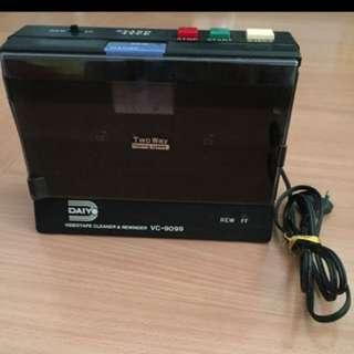 Daiyo Video Tape Cleaner and Rewinder
