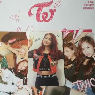 Twice Jihyo TSB Photocard