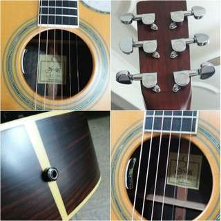 S.yairi japan brand acoustic guitar ((year end sale))