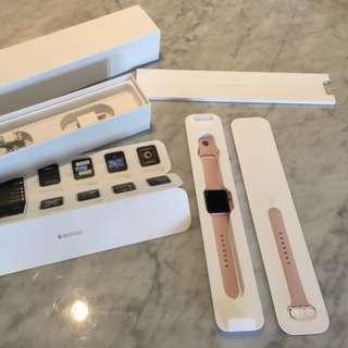 apple watch 38mm series 2 pink / rosegold