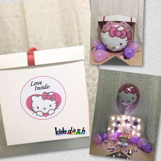 Hello Kitty Theme Surprise Box Gift Present