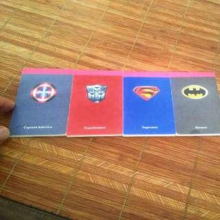 #Blessing Mini Superhero Notepad