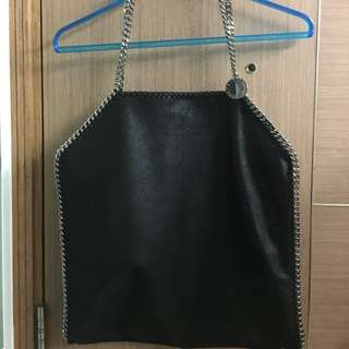Stella McCartney Falabella Large Shoulder Bag Black