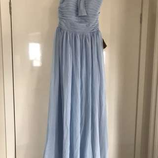 Brand New Sky Blue Dress size 10