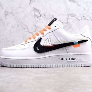 OFF WHITE X NIKE AIR FORCE 1 LOW 1:1 PREMIUM QUALITY