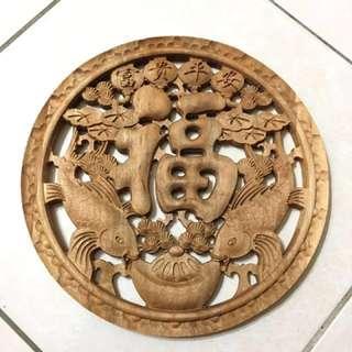 香樟木 雕刻 擺飾 掛飾 實木藝術 雷雕