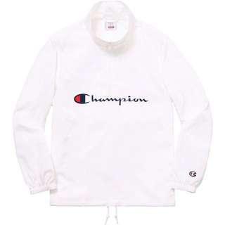 Supreme X Champion half zip jacket
