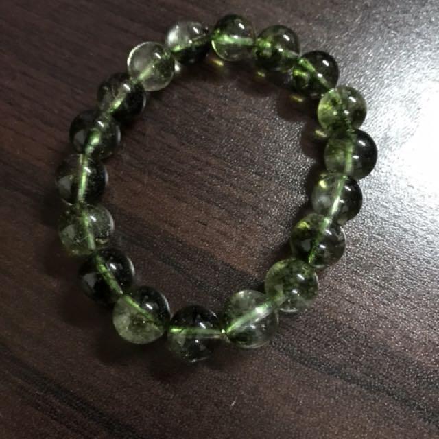 天然水晶優化綠幽靈10mm