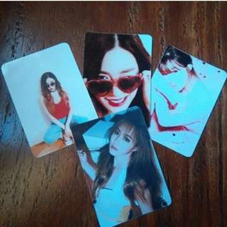 Tiffany and Yuri Fan made Photocards. P50 Each