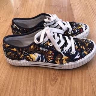 Kenzo tiger print men's sneakers size 42
