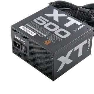 POWER SUPPLY xfx xt series 500watt 80+ bronze