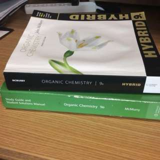 Organic Chemistry 9e McMurry Hybrid Version