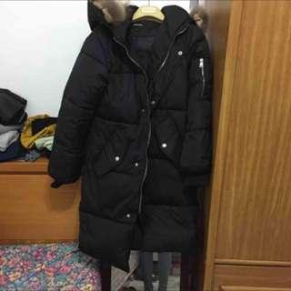 🚚 羽絨棉長版外套