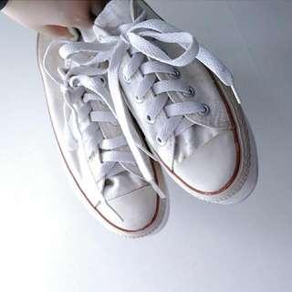 🚚 古著厚底鞋 帆布鞋