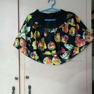 floral skirt medium