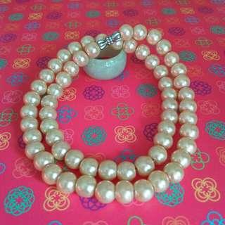 維納斯夢幻天然珍珠項鍊