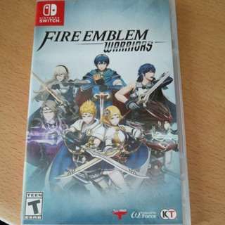 Nintendo switch game fire emblem