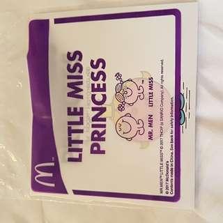 MacDonald Little Miss Princess Book