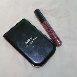 Fashion 21 Color Bar (+free liquid lipstick)