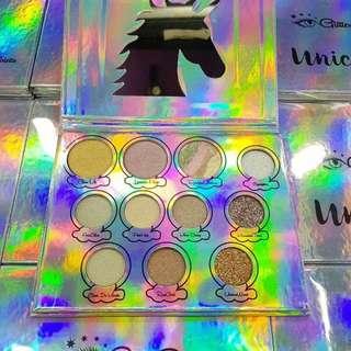 🌹Glitter eyes unicorn palette