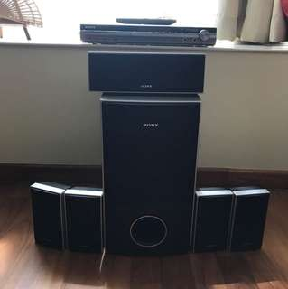Used Sony Home Entertainment System