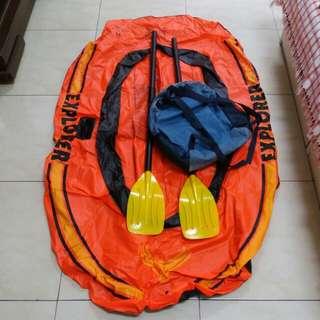 充氣塑膠小艇
