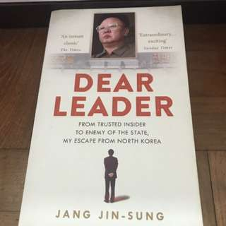 Dear Leader - a book about life in North Korea