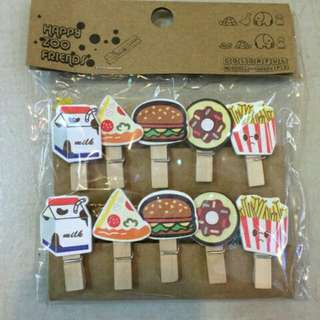 Design Wooden Clips