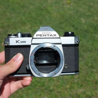 Pentax K1000 body only