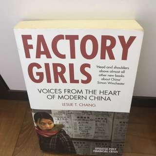 Factory Girls - life of factory workers in China