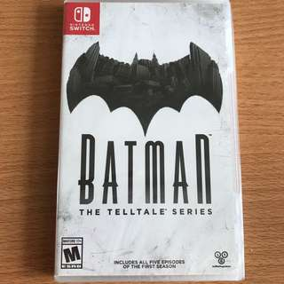 Nintendo Switch Batman Telltale Series