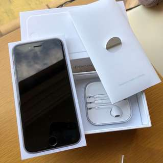 iPhone 6 grey 64GB (full box set)
