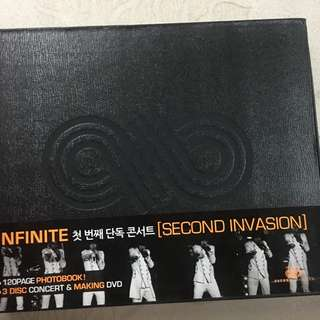 [WTS/WTT] INFINITE SECOND INVASION DVD