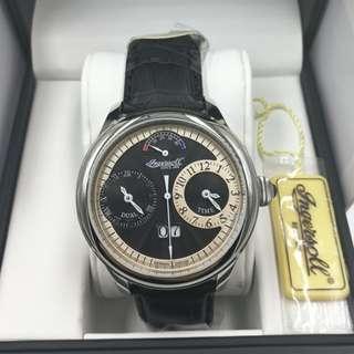 全新Ingersoll 限量版兩地時間自動錶