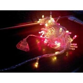Lampu pohon natal lampu hias LED 100 xmas murah - HPR058