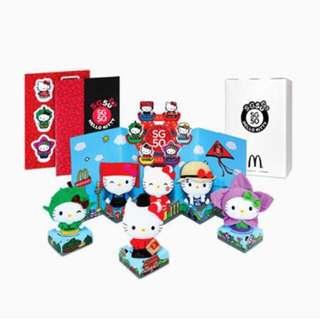 McDonald SG50 hello kitty Sanrio Set