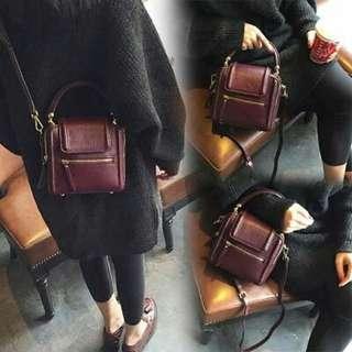 016 Maroon Bag Rp100.000 Bag ukuran 20x20x10 cm. Redi jkt