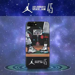 Jordan Space Jam Phone Case - iPhone 6/7/8/X