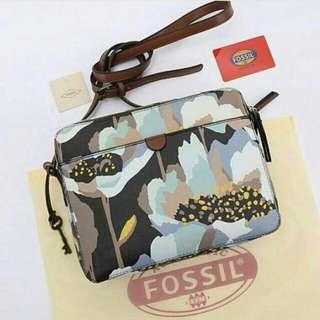 FREE ONGKIR tas wanita murah branded cew fashion selempang FOSSIL SIDNEY CROSSBODY