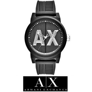 Armani Exchange Black Silicone Watch AX1451
