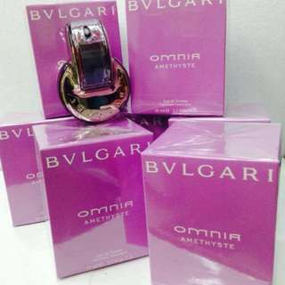 Authentic BVLGARI OMNIA AMETHYSTE