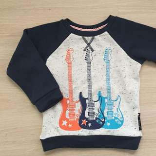 BabyK for Mothercare Guitar Sweater