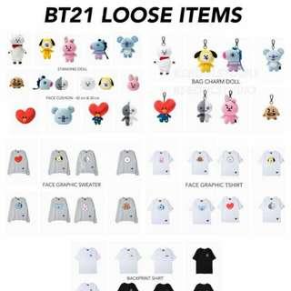 UPDATE BT21 order!!