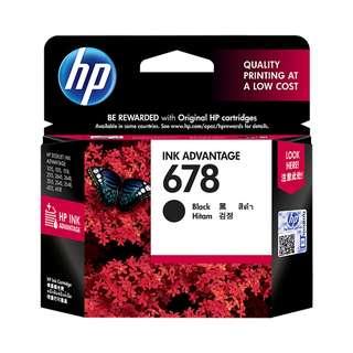HP Black Ink Cartridge 678 Black