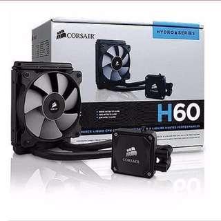 Corsair Liquid Cooler fan coolant H60