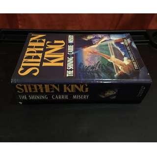 The Shining - Carrie - Misery Stephen King hardcover (3 novels in 1 volume)