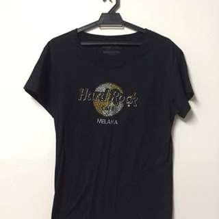 Authentic Hard Rock Melaka T-shirt with Stones