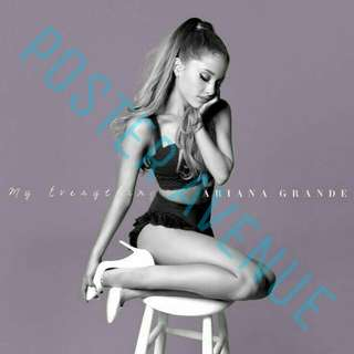 Ariana Grande My Everything Album cover Poster